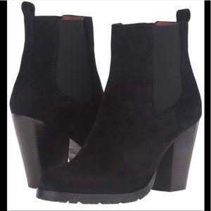 NIB Frye Tate Chelsea calf hair boots